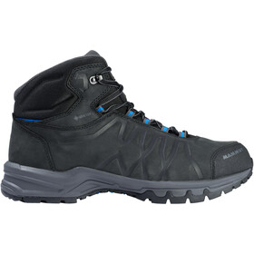 Mammut Mercury III Mid GTX Shoes Men black/dark gentian